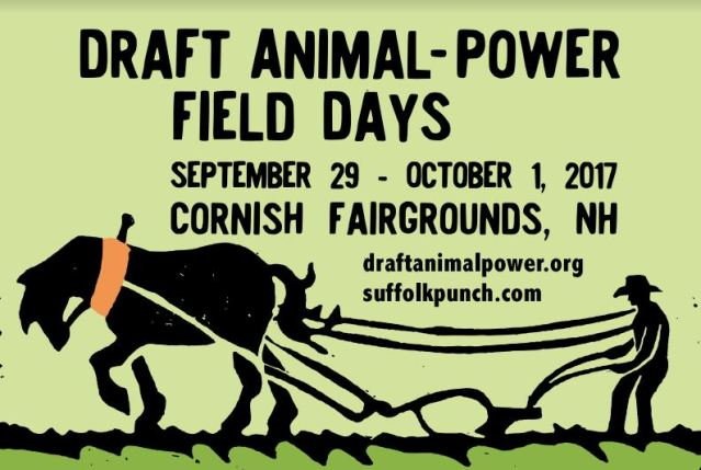 Draft Animal-Power Field Days