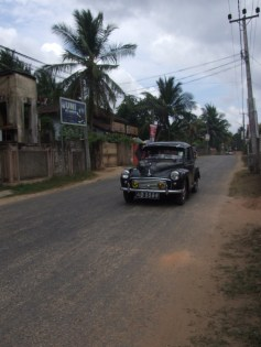 Morris Minor on Palaly road in Jaffna