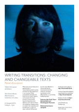 Writing transitions- Changing and changeable texts