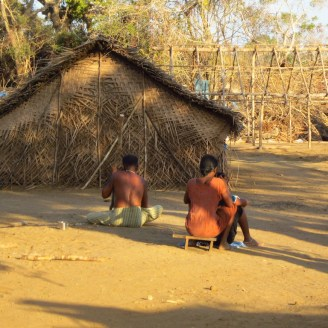 Mullikulam villagers living in temporary shelters - Malankaadu, 2013 - 2