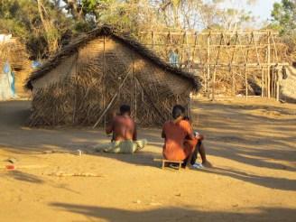 Mullikulam villagers living in temporary shelters - Malankaadu, 2013 - 2