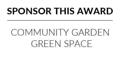 sponsor the community garden or green space award