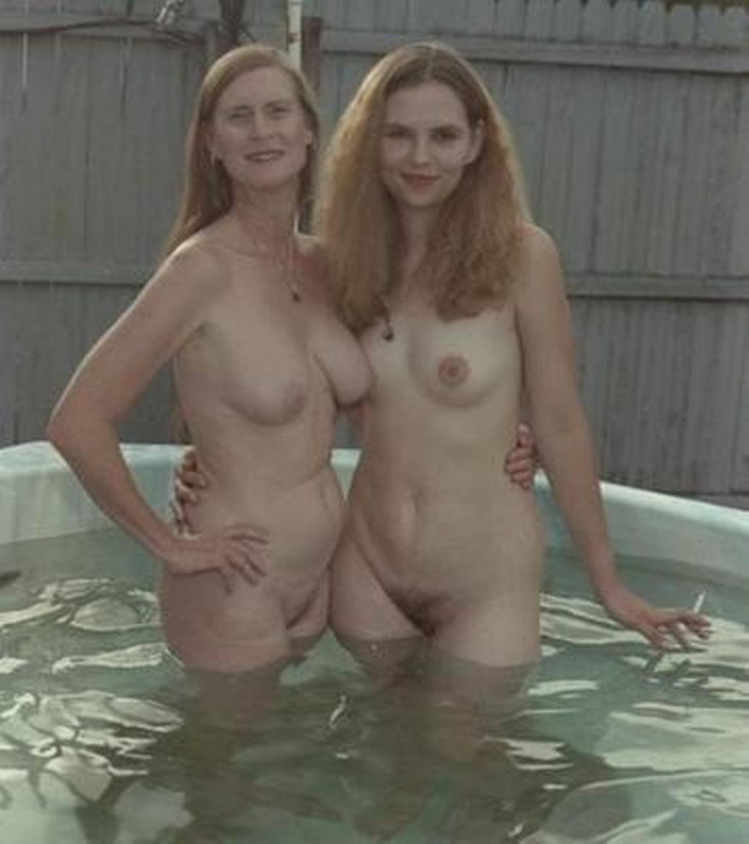 Nudist family me and mom