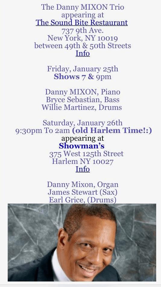 Danny Mison Trio