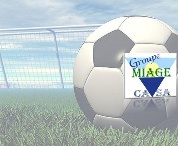 Inscription au Club de foot de MIAGE Casa - saison 2017-18