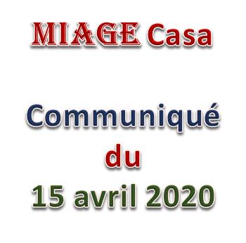 Communiqué-2 E-learning Covid-19