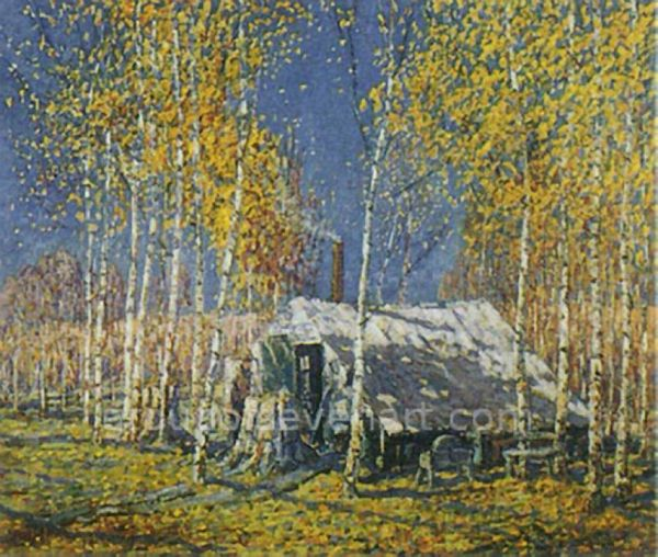 The Guide's Home, Algonquin 1914