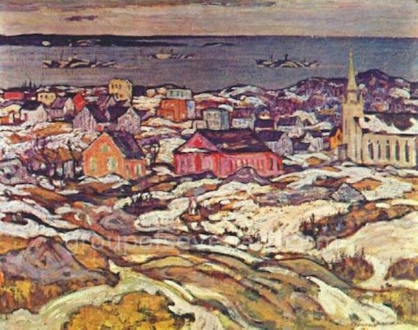 The Entrance To Halifax Harbour 1919