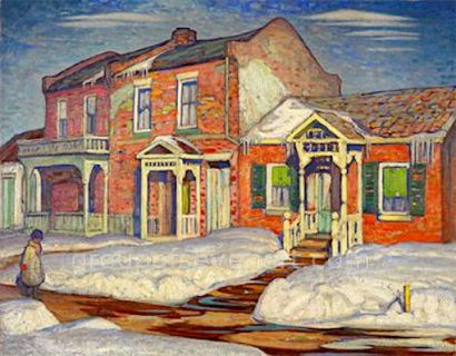Red House, Winter 1925