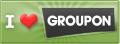 Groupon I Heart Groupon Badge
