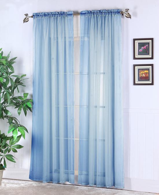 Sheer Abby Curtain Colors