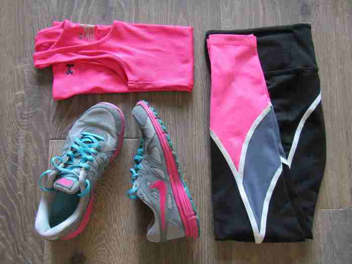 Outfit to pack for a fitness convention