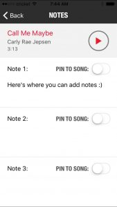 Add Notes to Schwinn Cycling App to Teach the Spin Class