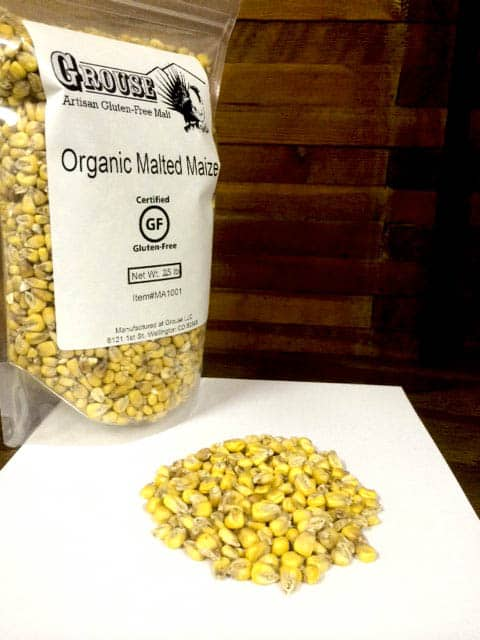 Now Available: Organic Malted Maize