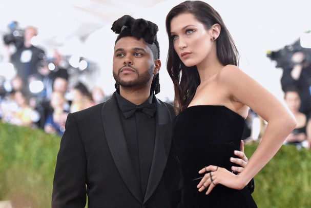 The Weeknd e Bella Hadid (Foto: Getty Images)