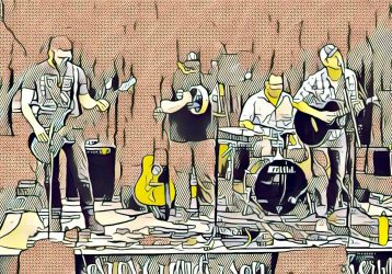 band comic