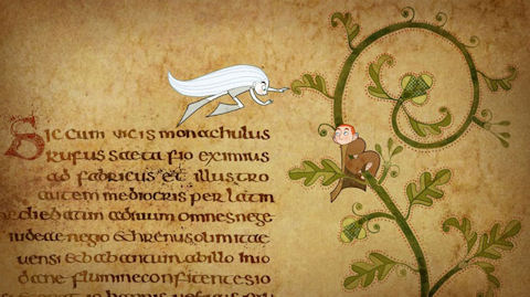 The film version of The Book of Kells