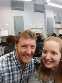 Brendan Kiely and me! We're both Bostonians!