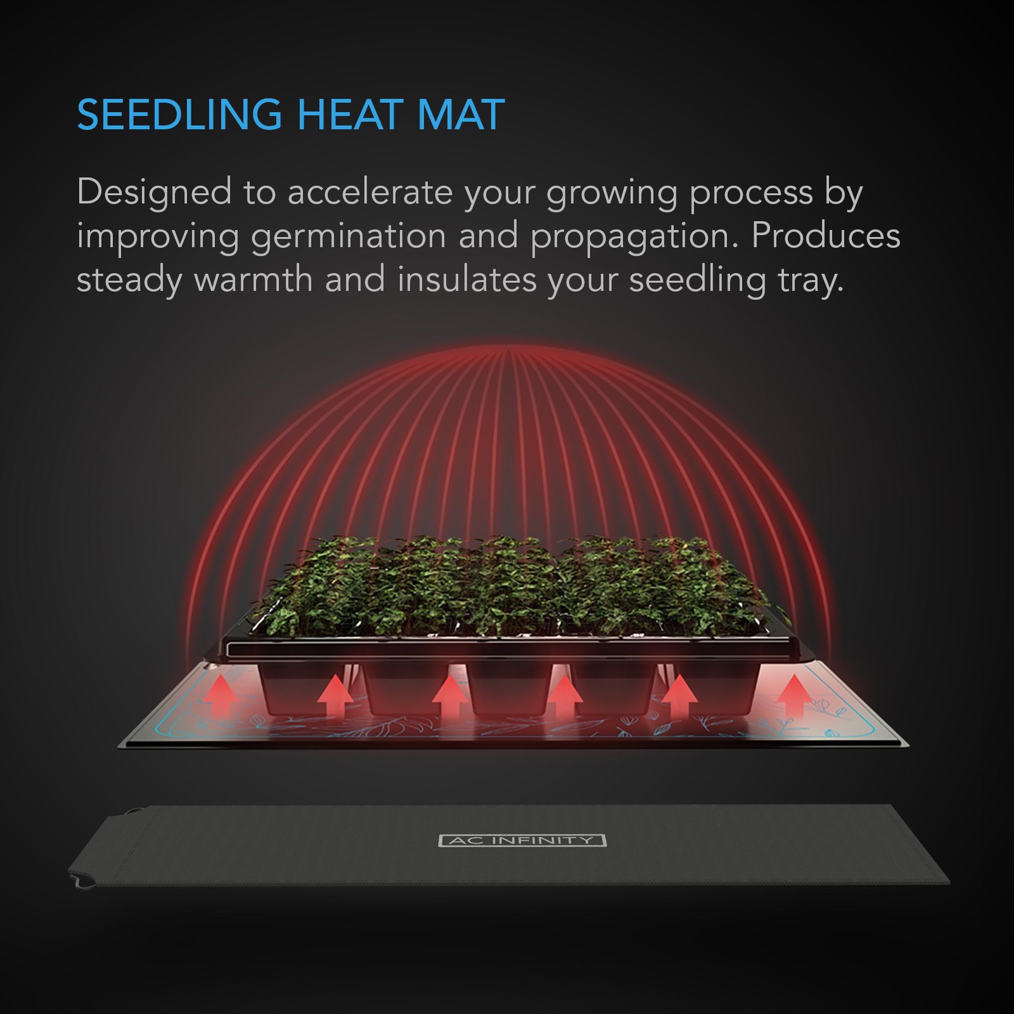Seedling heat mat information
