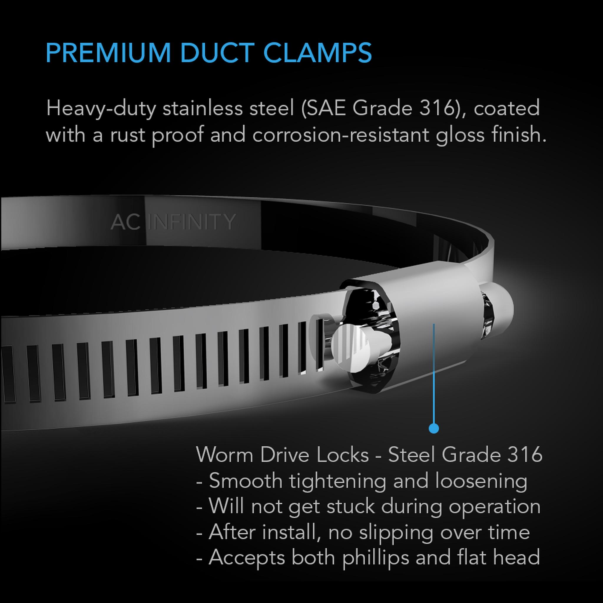 Premium Duct Clamps