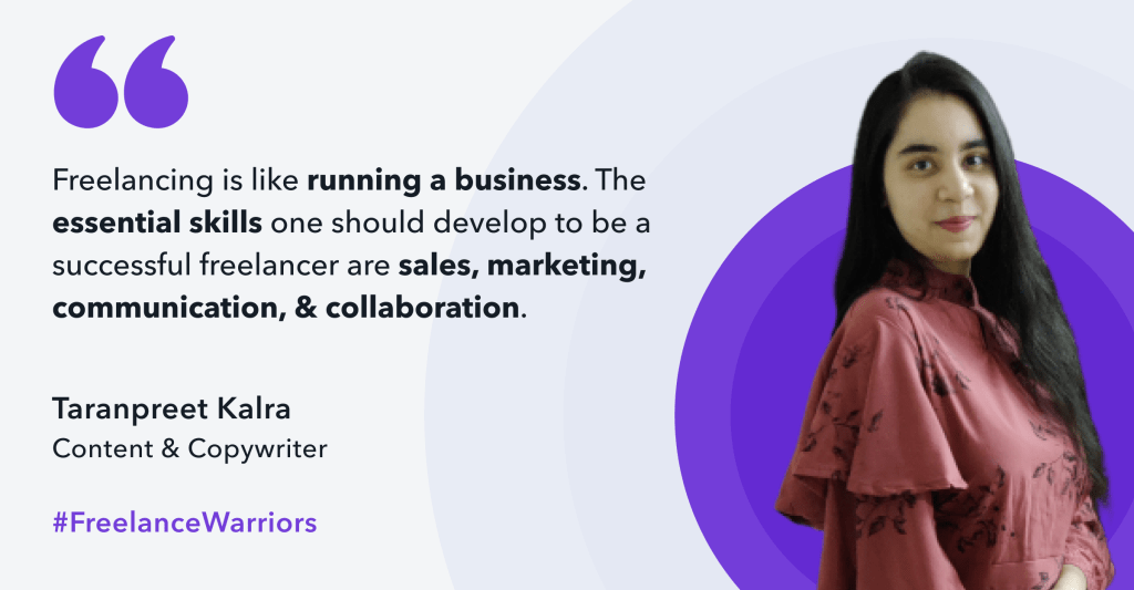 Taranpreet is a content writer & copywriter who also does social media strategy & consulting. She has been in working in the field since September 2020.