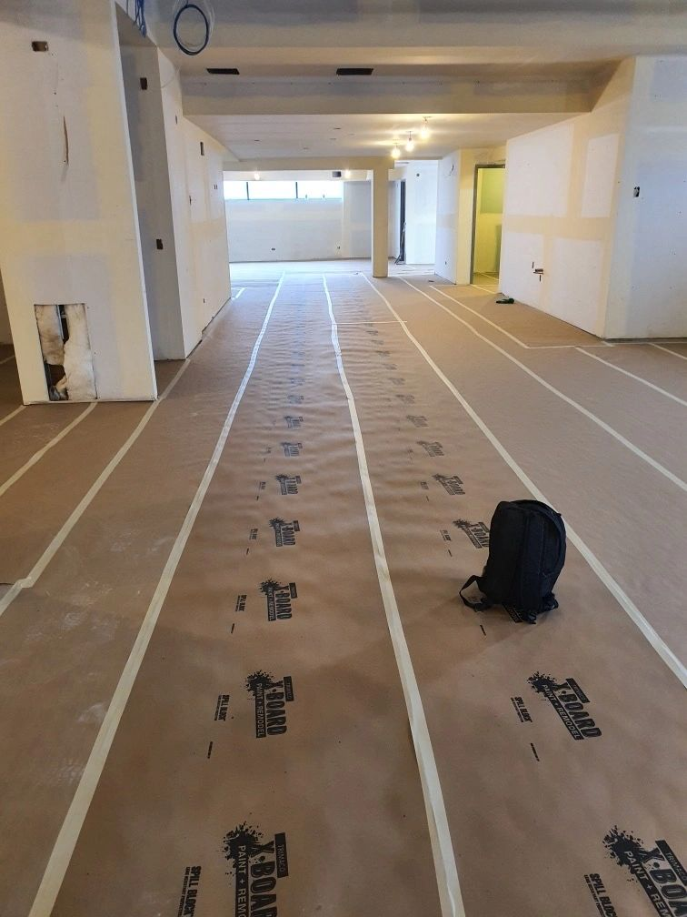 Floors are protected until opening