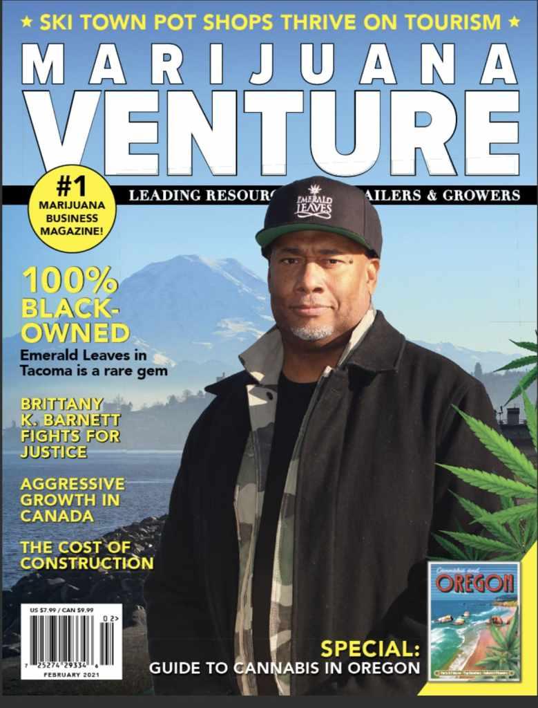 Marijuana Ventures Cover