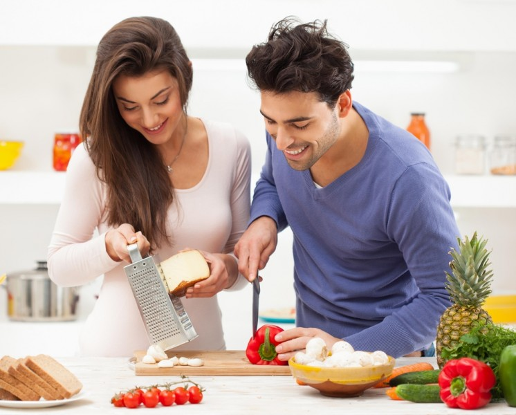 Cooking Together benefits of cooking as a couple