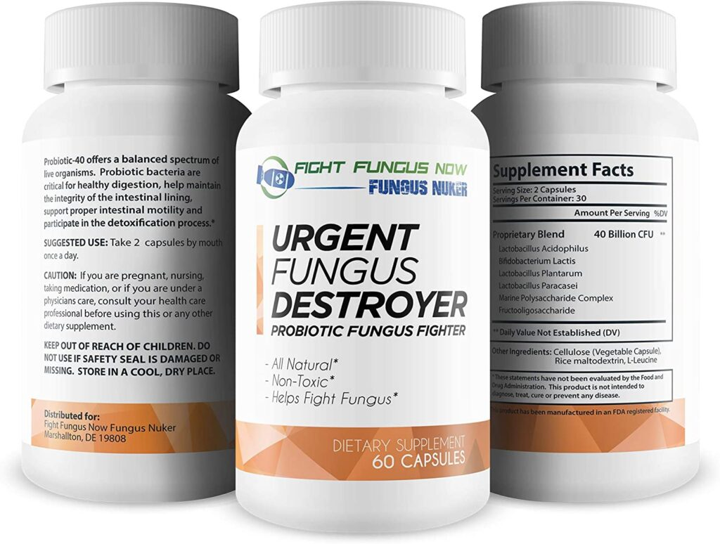 Urgent Fungus Destroyer Review: Skin, Nails, Hands and Feet Supplement