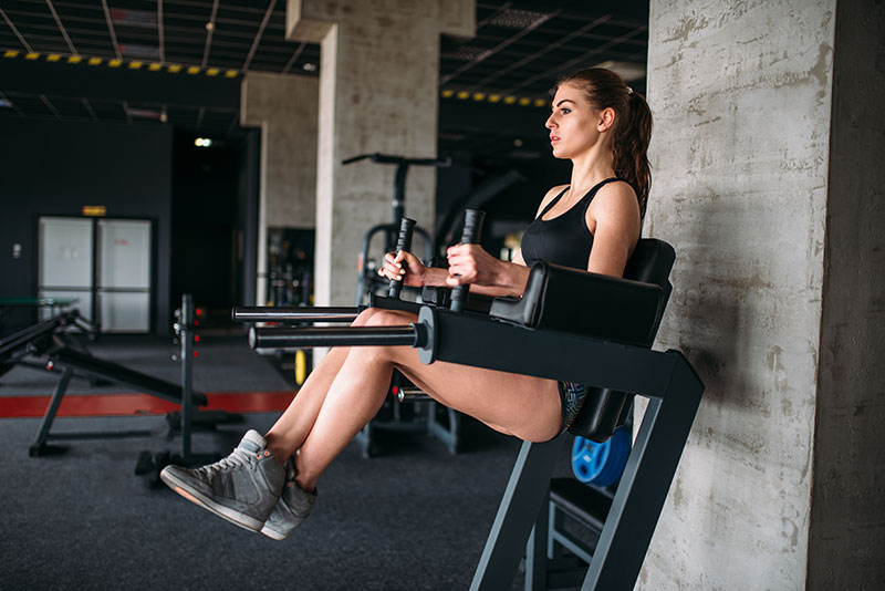 9 Best Captain's Chair Exercises (That Will Set Your Core on Fire)