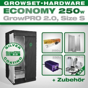 Growschrank Komplettset Growpro 2.0 S