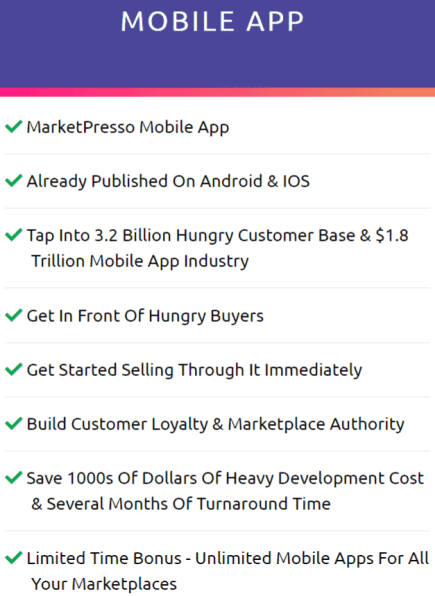MarketPresso 2.0 Review OTO4