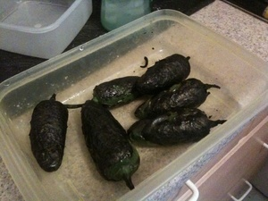 stuffed jalapeno pepper recipe, steaming jalapeno peppers