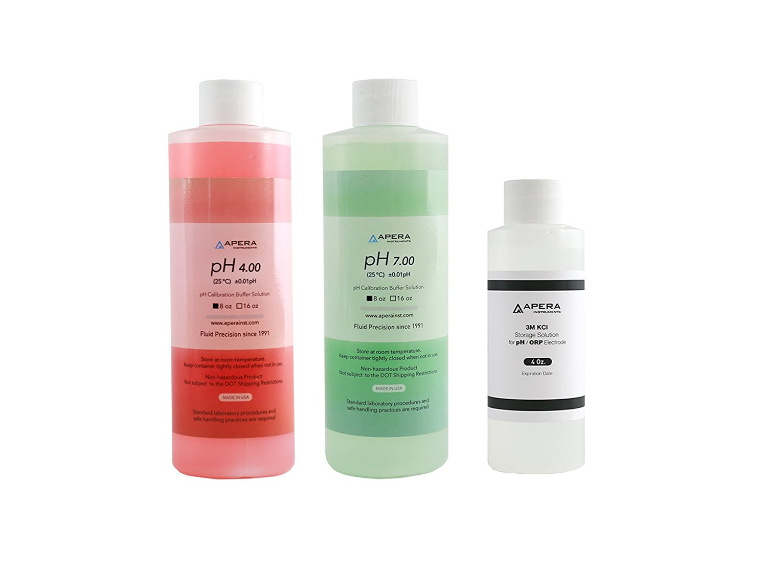 Apera Calibration Buffer Solution and Storage Solution on Amazon