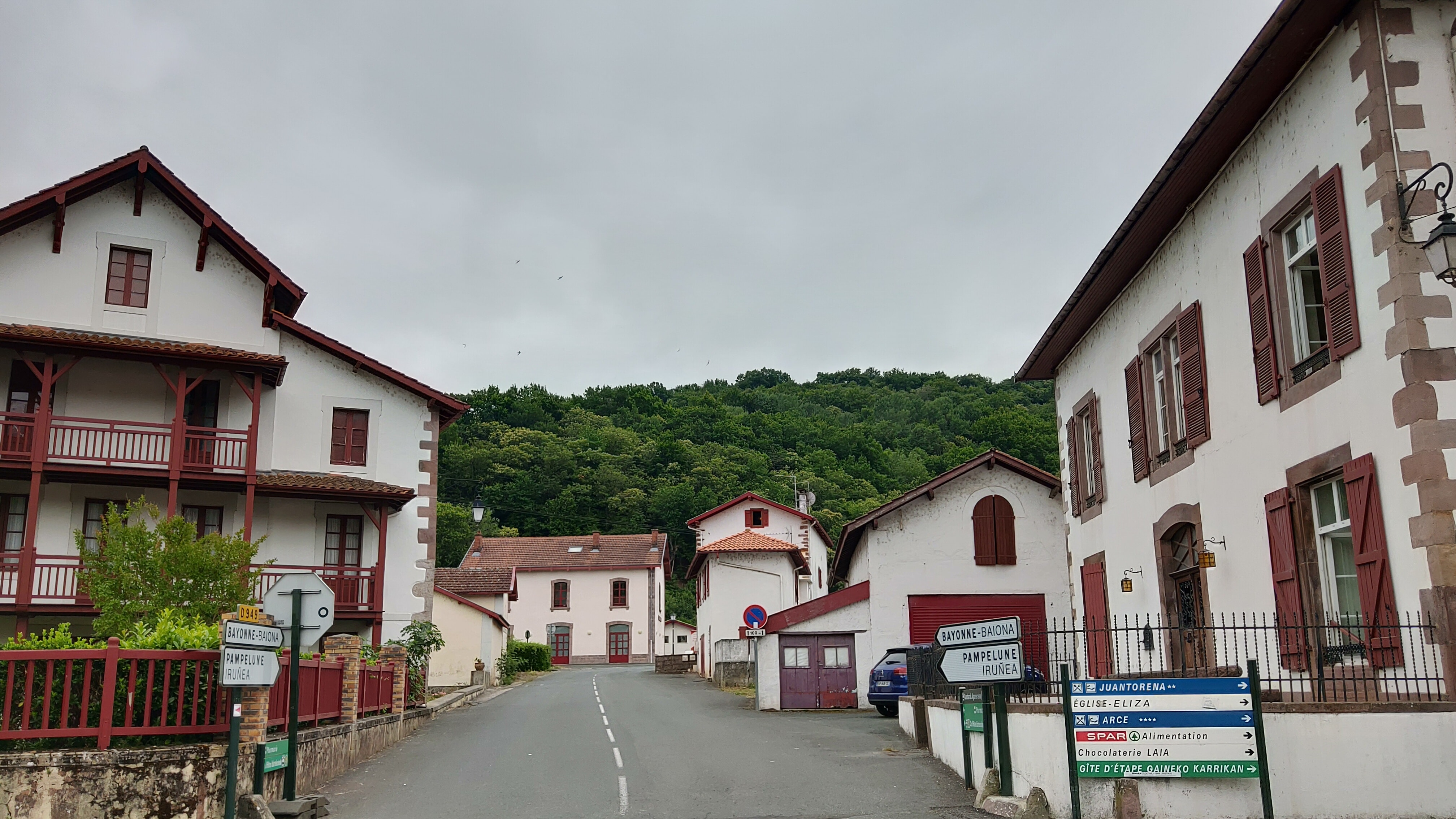 French Basque buildings