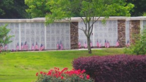 memorial wall-History of NLR State Veterans Cemetery