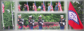Memorial Day 2015 at the Arkansas State Veterans Cemetery in North Little Rock