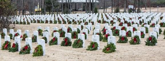 Wreaths Across America Ceremony 2015