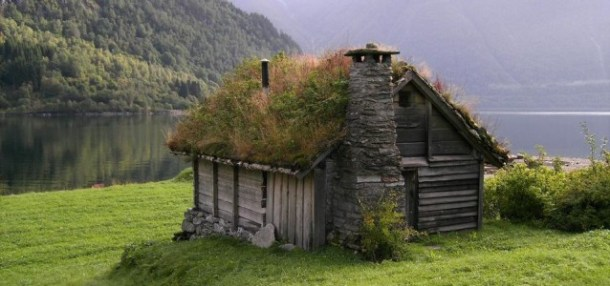Countryside Cottage Green Roof