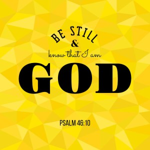 Discipleship Devotional Study Guide - Prayer - Psalm 46:10 - Be Still - Growing As Disciples