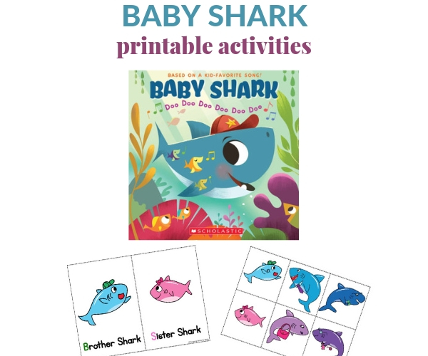 Baby Shark Printable Activities For Toddlers And Preschoolers