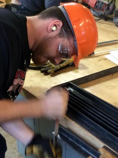 Filing shelf frame