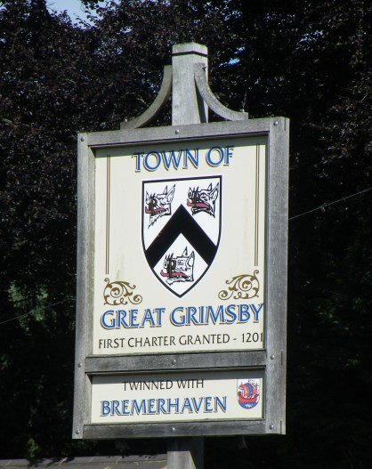 Entering Grimsby