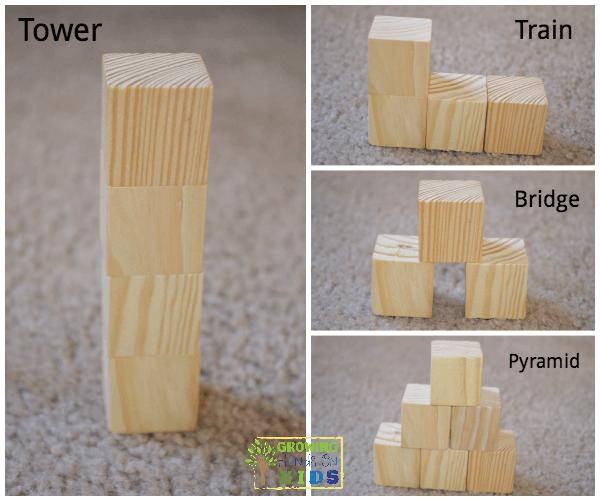 wooden block designs