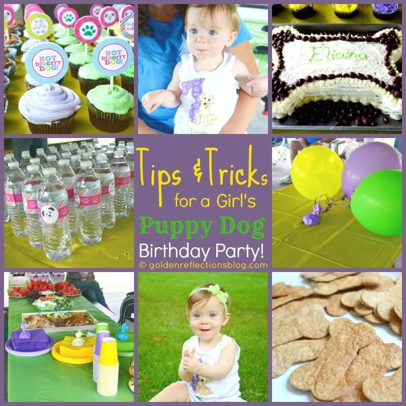 dog themed birthday party ideas | www.GoldenReflectionsBlog.com