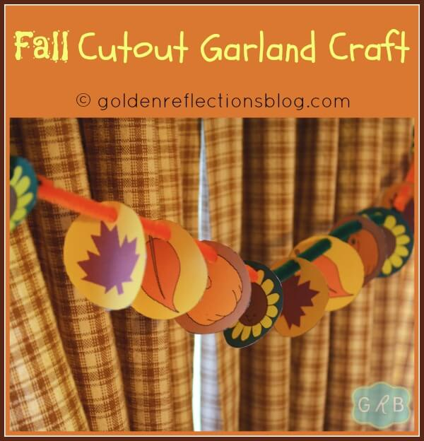 Fall Cutout Garland Craft