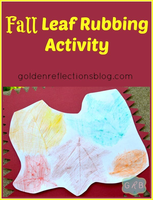 Fall Leaf Rubbing Activity