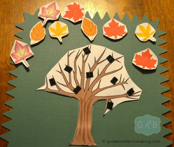 Fall Tree Decorating Craft 5