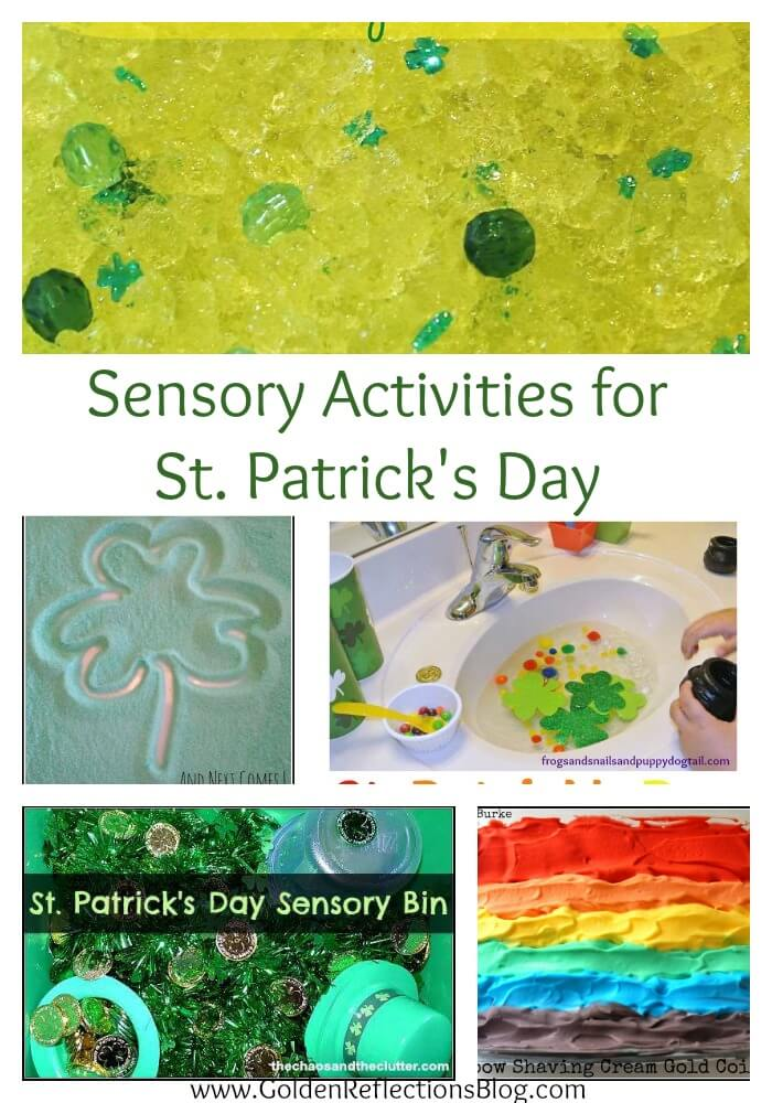 Sensory St. Patrick's Day activities for kids
