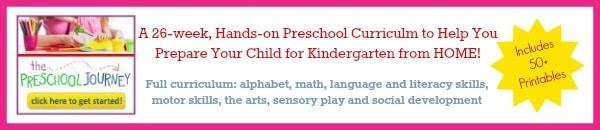 Preschool homeschool